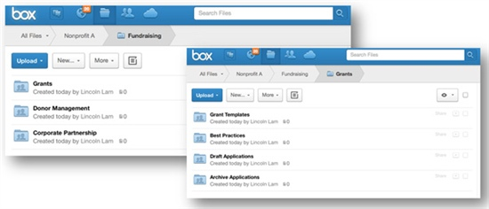 Box, box.org, solution, stockage, en, ligne, sécurisée, securisee, securise, collaboratif, collaborative,